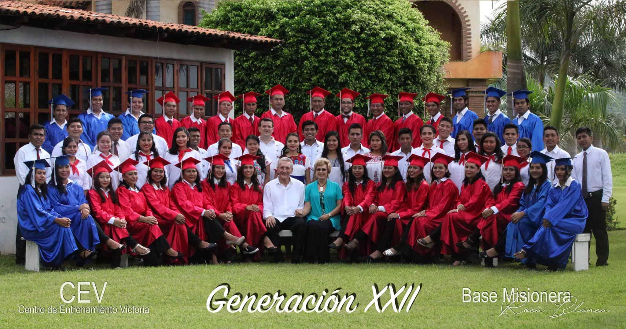 Roca Blanca Bible School Graduation