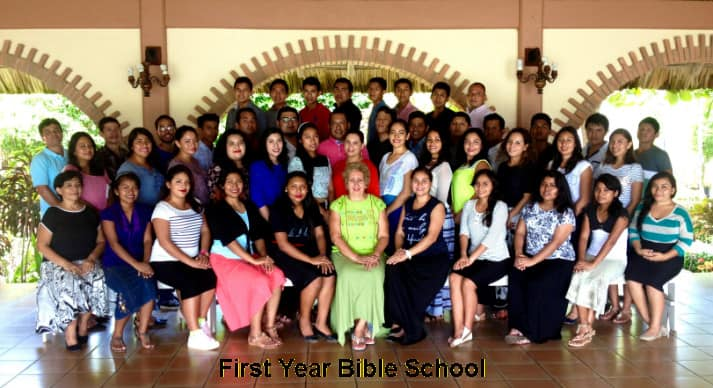First Year Bible School 2016-17