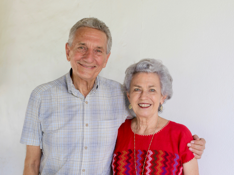 Duane and Sue Kershner, founders of Roca Blanca Missions Base