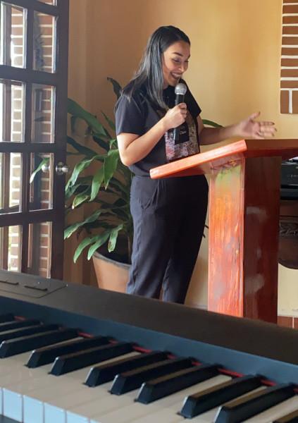 Alejandra Teaching