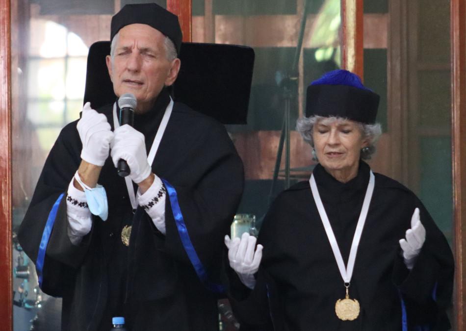 Duane and Susan Kershner Receive Honorary Doctorate Degree