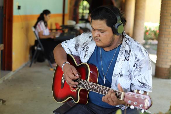 CAMP, Worship with Guitar, Discipleship